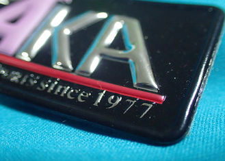 High-Frequency Patch With Embossed Logo , Customized 3D Effect TPU Heat Transfer