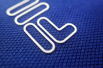 Silicon Heat Transfer Clothing Labels For Bags , Hats , Baskterball Wear