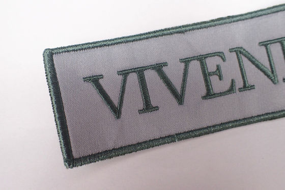 Woven Iron On Patches Letter Embroidered Patches For Clothing